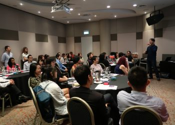 Discussion at Kinofy-iClick Workshop | Kinofy Singapore