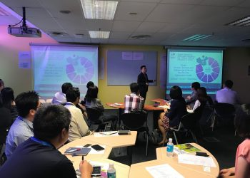 Workshop for OTR Consortium CHP Sector | Kinofy Singapore