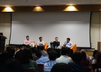 Talk by Panel at Productivity in Digital Age | Kinofy Singapore