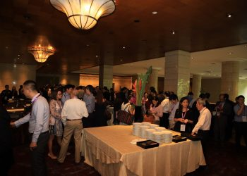 Reception Area at Launch Dinner | Kinofy Singapore