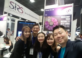 Seamless Asia Conference Booth | Kinofy Singapore